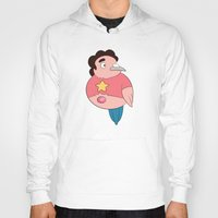 steven universe Hoodies featuring Steven Universe: Steven by Birbles