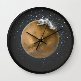 Lost in a Space / Marsporror Wall Clock