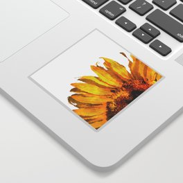 Simply a sunflower  Sticker