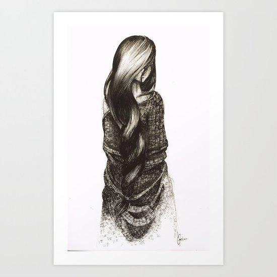 Security Blanket Art Print