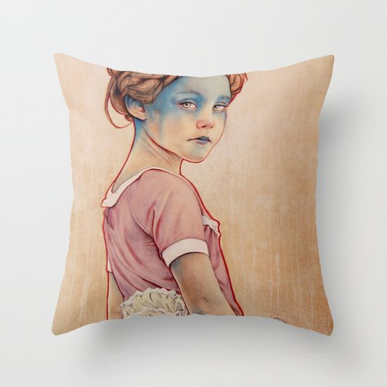 Within White Throw Pillow