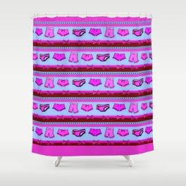 Panty Raid Shower Curtain