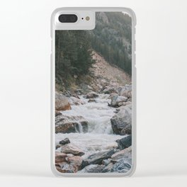 The rushing Thompson Clear iPhone Case
