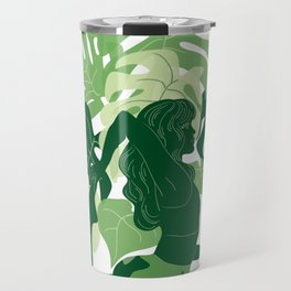 One-Legged King Pigeon Pose Travel Mug