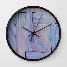 Lilac Dreamscape  Wall Clock