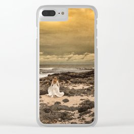 While the Light Lasts Clear iPhone Case