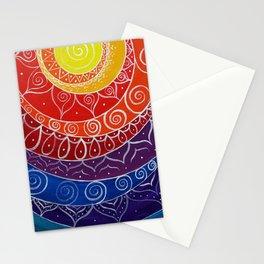 Offset Mandala 267 Stationery Cards