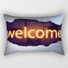 Welcome Rectangular Pillow