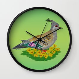 Neighbourhood roamer Wall Clock