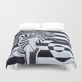 Colors of the Mind Duvet Cover
