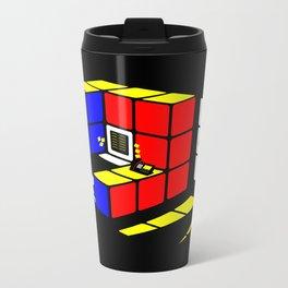 Rubix Cubicle Metal Travel Mug