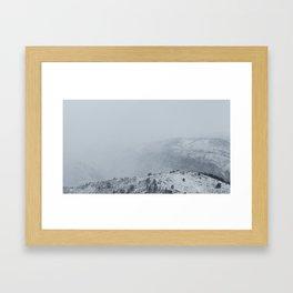 The Misty Mountains Framed Art Print