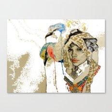 jennifer wip Canvas Print