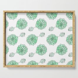 PATTERN II Succulent Life Serving Tray