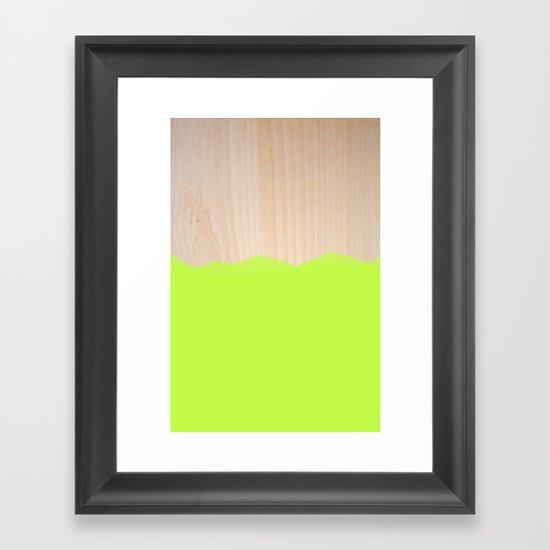 Sorbet II Framed Art Print