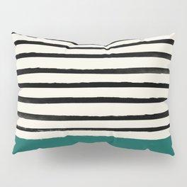 Jungle x Stripes Pillow Sham