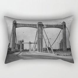 Vintage Hennepin Rectangular Pillow