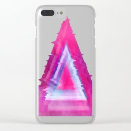 Pyramid-Tee Clear iPhone Case