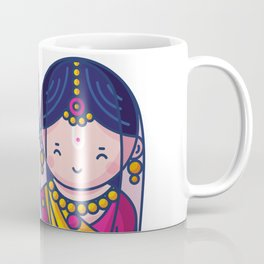 Cute Radha Krishna Coffee Mug