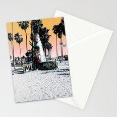 Beach Graffiti Stationery Cards