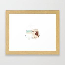 Fall in love - Ingredienti coraggiosi Framed Art Print