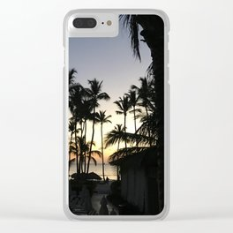 dreams from punta cana // the dominican republic Clear iPhone Case