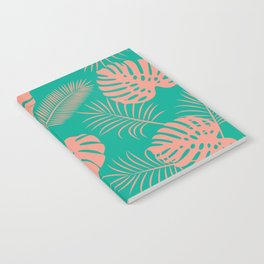 TROPICAL LEAVES 8 Notebook