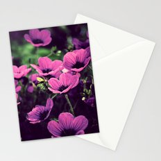 A purple evening Stationery Cards