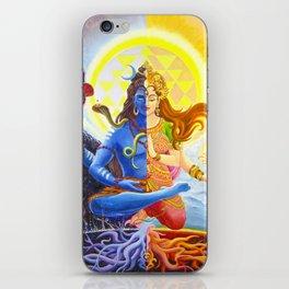 Shiva and Shakti iPhone Skin