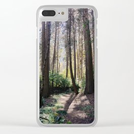 Yosemite woods Clear iPhone Case