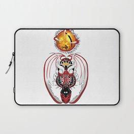 Cosmic Bloodshot Dragon Laptop Sleeve