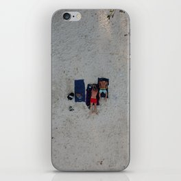 Aerial Beach Towels iPhone Skin