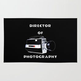 Director Of Photography Rug
