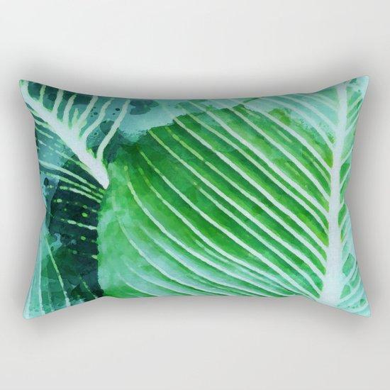 Rearranged Beauty Rectangular Pillow