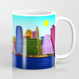 The colorful East side of Manhattan New York Coffee Mug