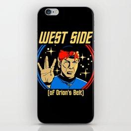 West Side - Spock iPhone Skin