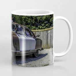Classic Nash Petrol Car Along Route 66 ion Missouri Coffee Mug
