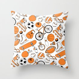 SPORTS Throw Pillow
