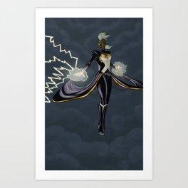 Storm, Mistress of Weather Art Print