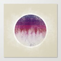 stripe Canvas Prints featuring STRIPE by Charlotte Dandy