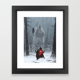 Starza Framed Art Print