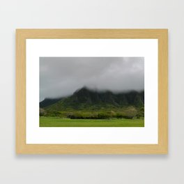 Ko'olau Mountains Framed Art Print