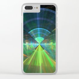 Native American Wi-Fi Clear iPhone Case
