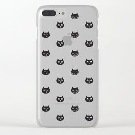 black cats Clear iPhone Case