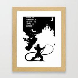 Castlevania Framed Art Print