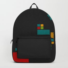 Colored Squares Backpack