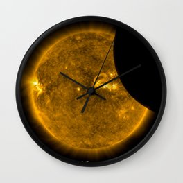 SDO Sees Solar Eclipse 2 Wall Clock