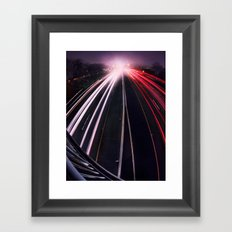 Passing By Framed Art Print