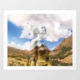 The Hills Are Alive! Art Print