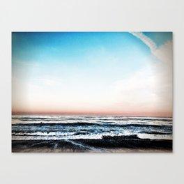 Cool Crushing Waves Canvas Print